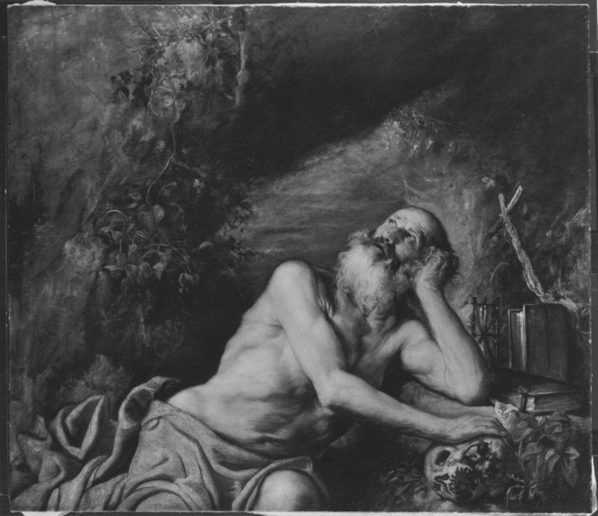 Hl. Hieronymus in der Einöde