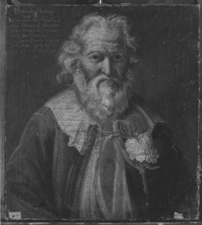 Bildnis des Johann Fritsch, gen. Föder Hanns