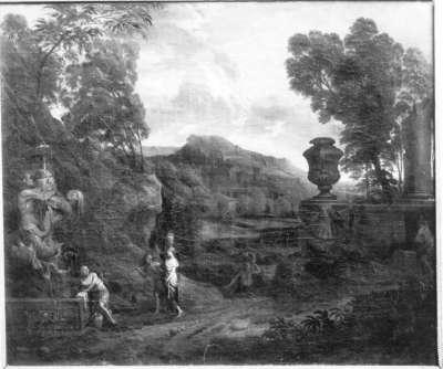 Italienisch-klassische Landschaft