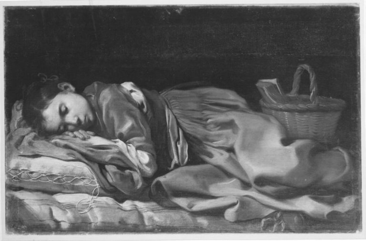 Schlafendes Mädchen