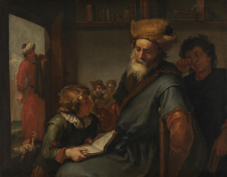 Plato von Diogenes verhöhnt