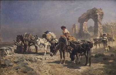 Römische Eselskarawane