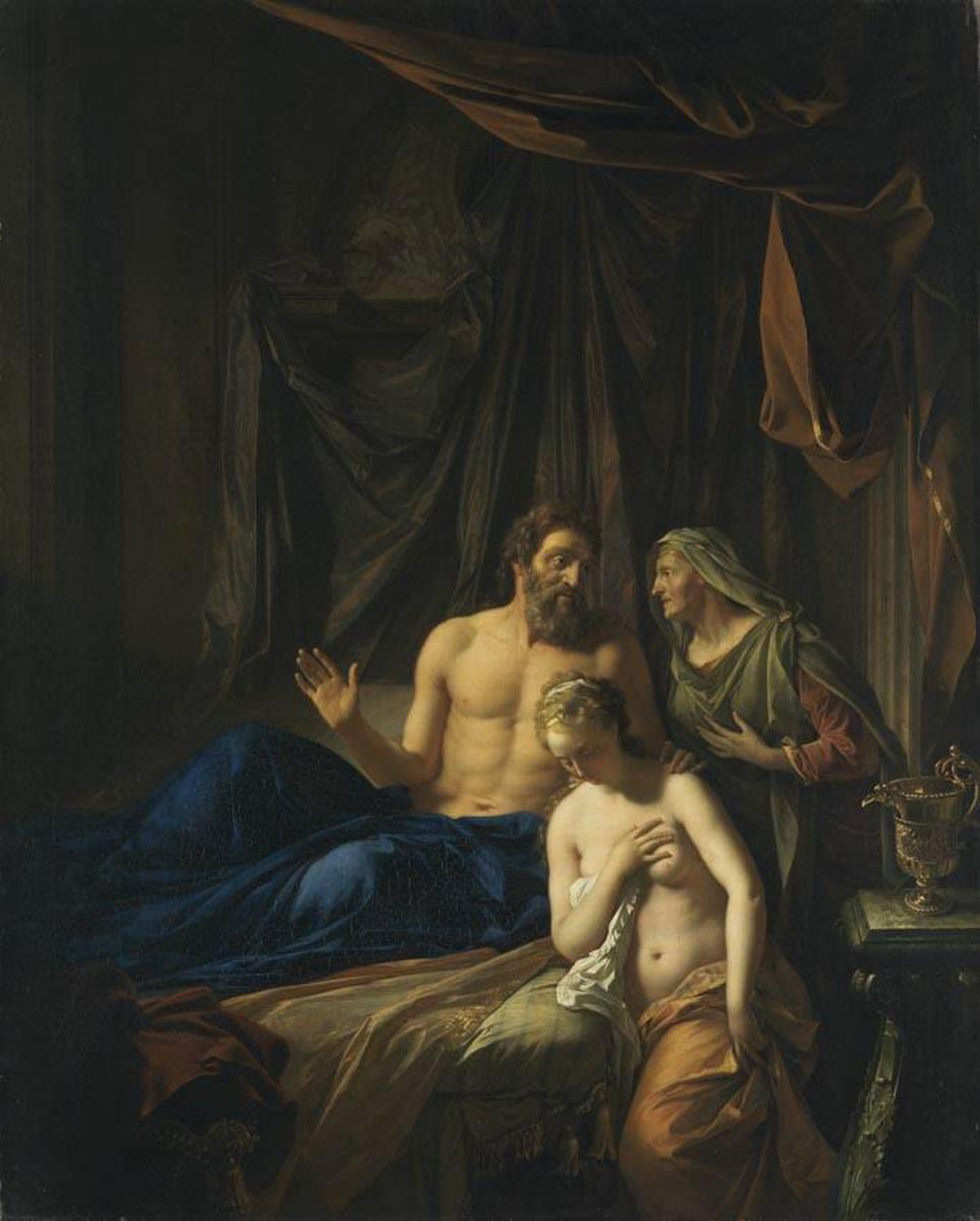 Sara führt Abraham Hagar zu