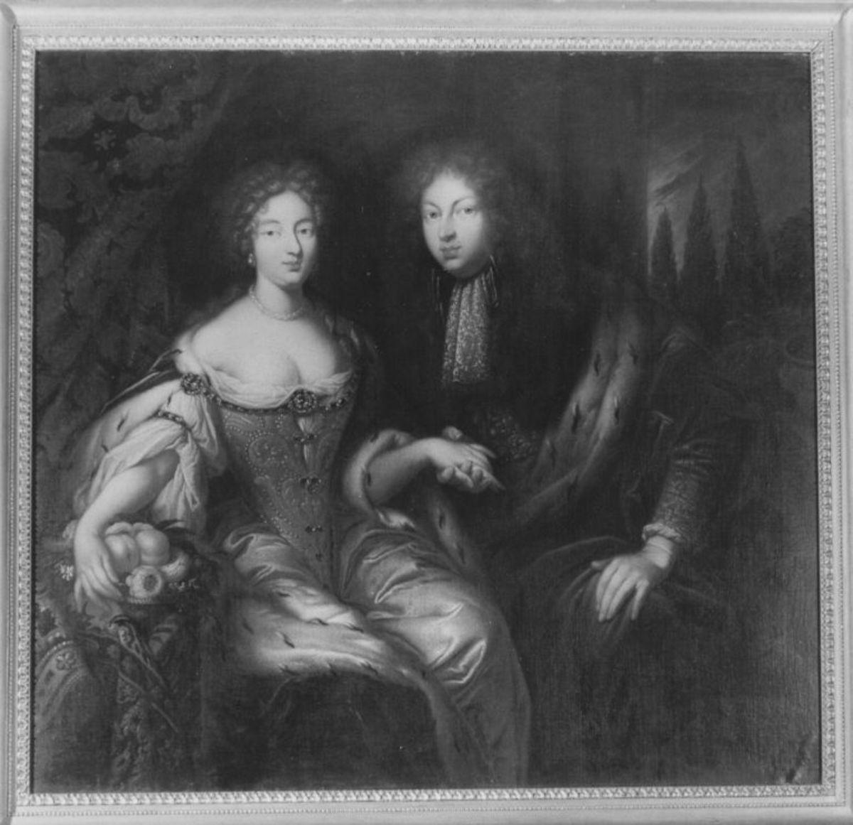 Markgraf Johann Friedrich von Brandenburg-Ansbach und seine Braut Eleonore Erdmuthe Luise von Sachsen-Eisenach