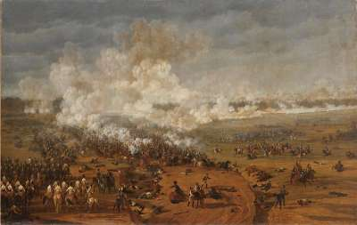 Am dritten Tag der Schlacht bei Hanau (Schlachtenzyklus)