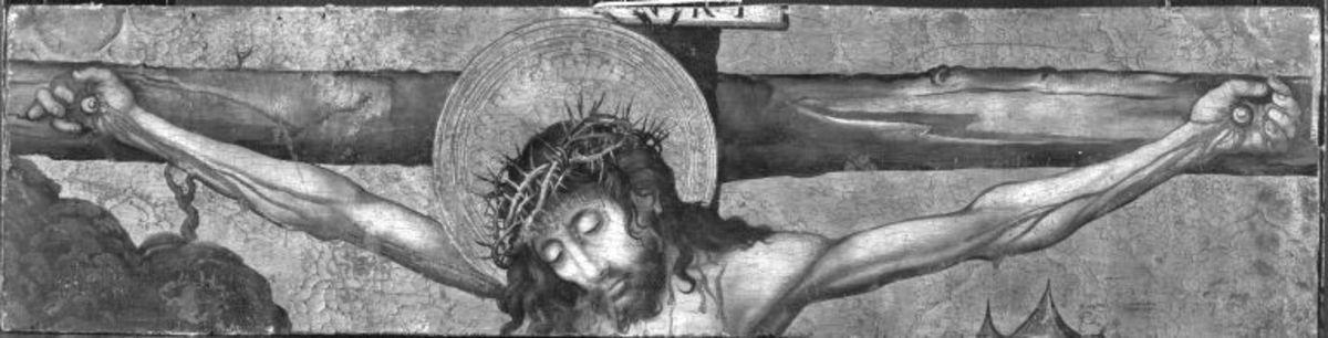 Fragment einer Kreuzigung Christi