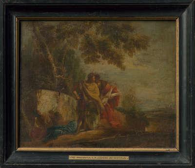 Alexander und Aristoteles