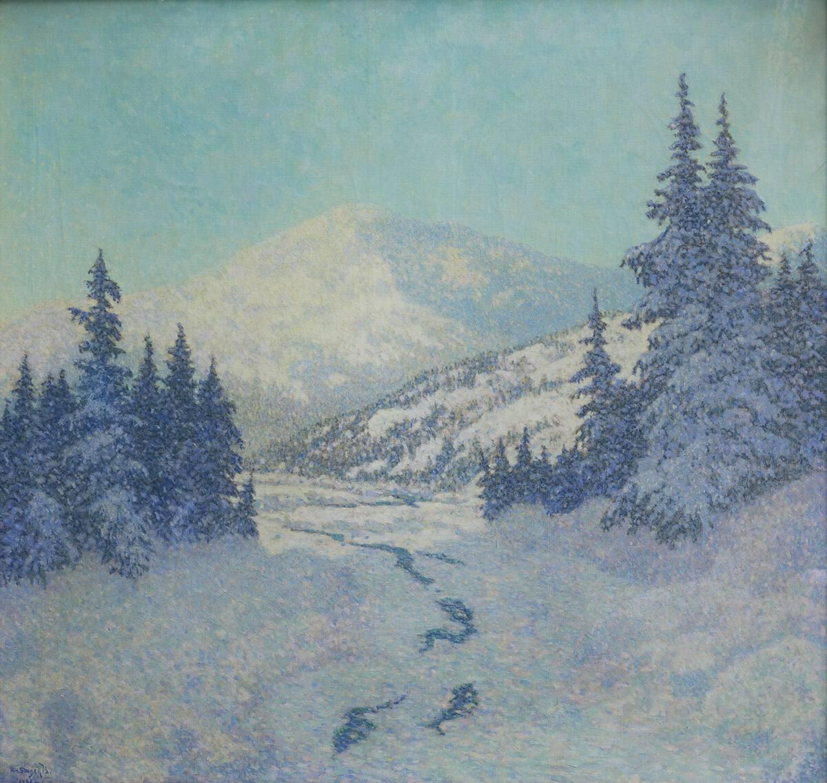 Zugefrorener Fluss (The Frozen River)