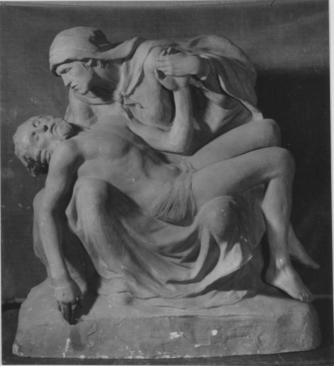 Modell für die Pietà des Mausoleums der Familie Götz Martius in Kiel