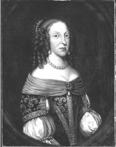 Bildnis der Landgräfin Anna Sophie von Hessen-Darmstadt, spätere Fürstäbtissin von Quedlinburg (1638-1683) (?)