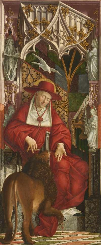 Kirchenväteraltar: Hl. Hieronymus