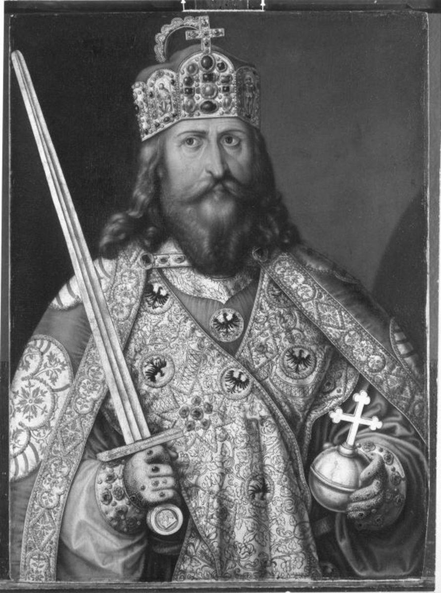 Karl der Große (Kopie nach dem Gemälde in Nürnberg)