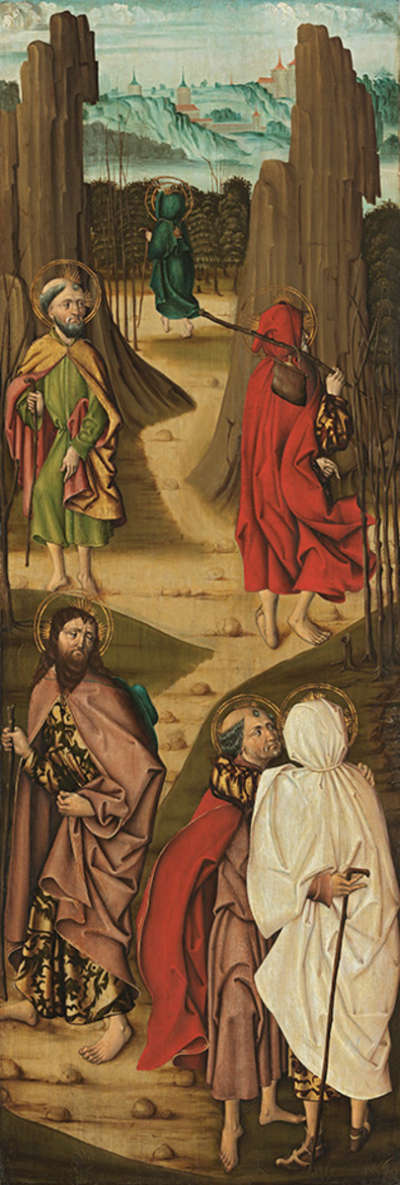 Marienaltar: Apostelabschied (rechter Teil)