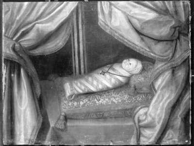 Bildnis eines Prinzen, als Wickelkind