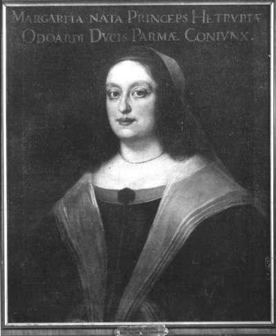 Bildnis der Margaretha Medici, Gemahlin des Herzogs Odoardo von Parma
