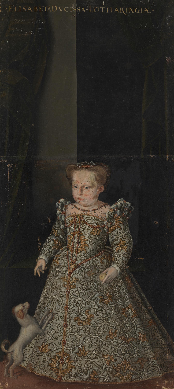 Elisabeth Renata, Tochter Herzog Karls III. von Lothringen (1574-1635)