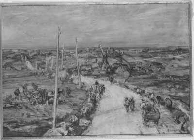 Bretonische Landstraße