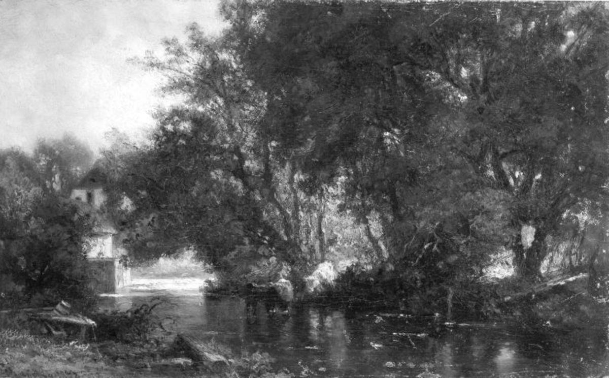 Mühle am Wasser