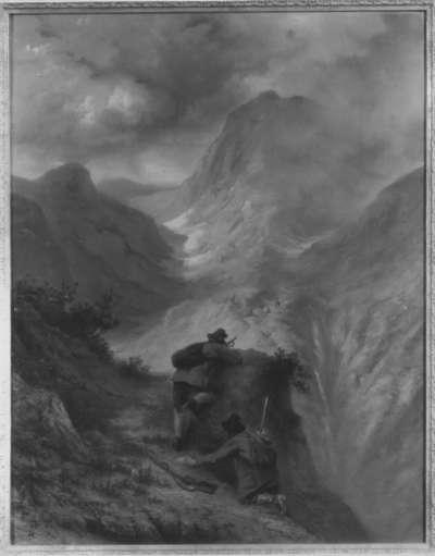Wilddiebe im Gebirge