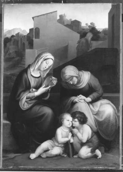 Maria und Elisabeth mit Jesus und Johannes