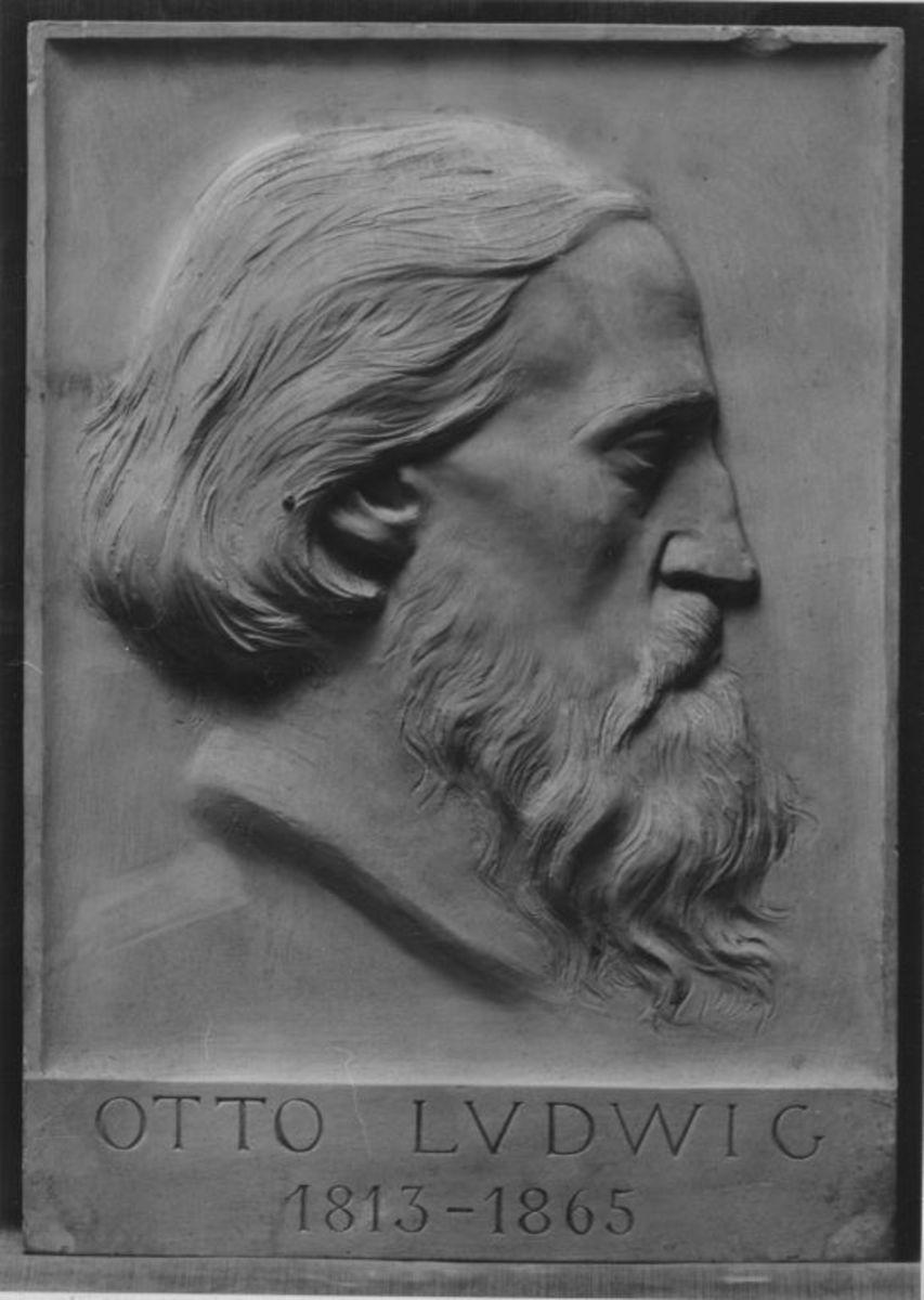 Der Schriftsteller Otto Ludwig (1813–1865)