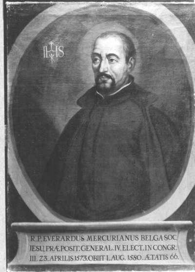 Belgischer Jesuitengeneral Everardus Mercurianus
