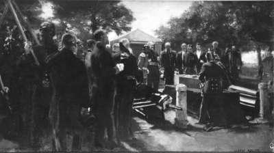 Die Überführung der Leiche von La Tour d'Auvergne
