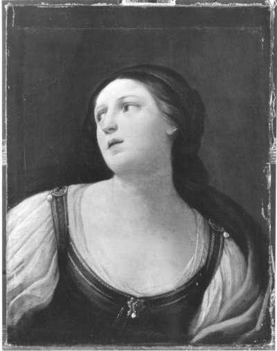 Weibliche Idealfigur (Brustbild)