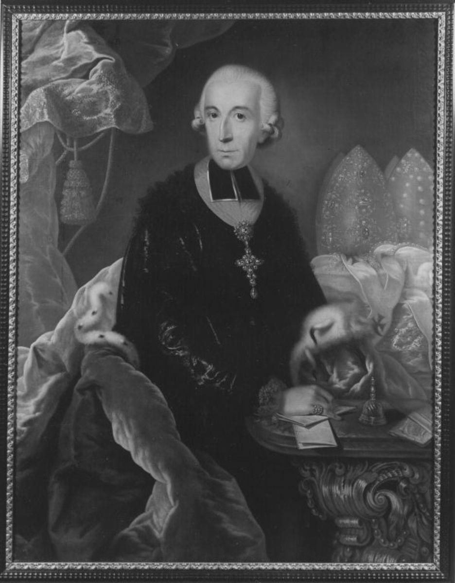 Bildnis des Franz Ludwig von Erthal, Fürstbischof von Bamberg und Würzburg (1730-1795)