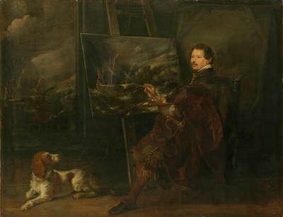 Bildnis des Marinemalers Andries van Aertvelt (Eertvelt)