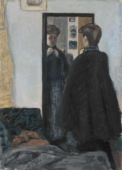 Dame vor dem Spiegel