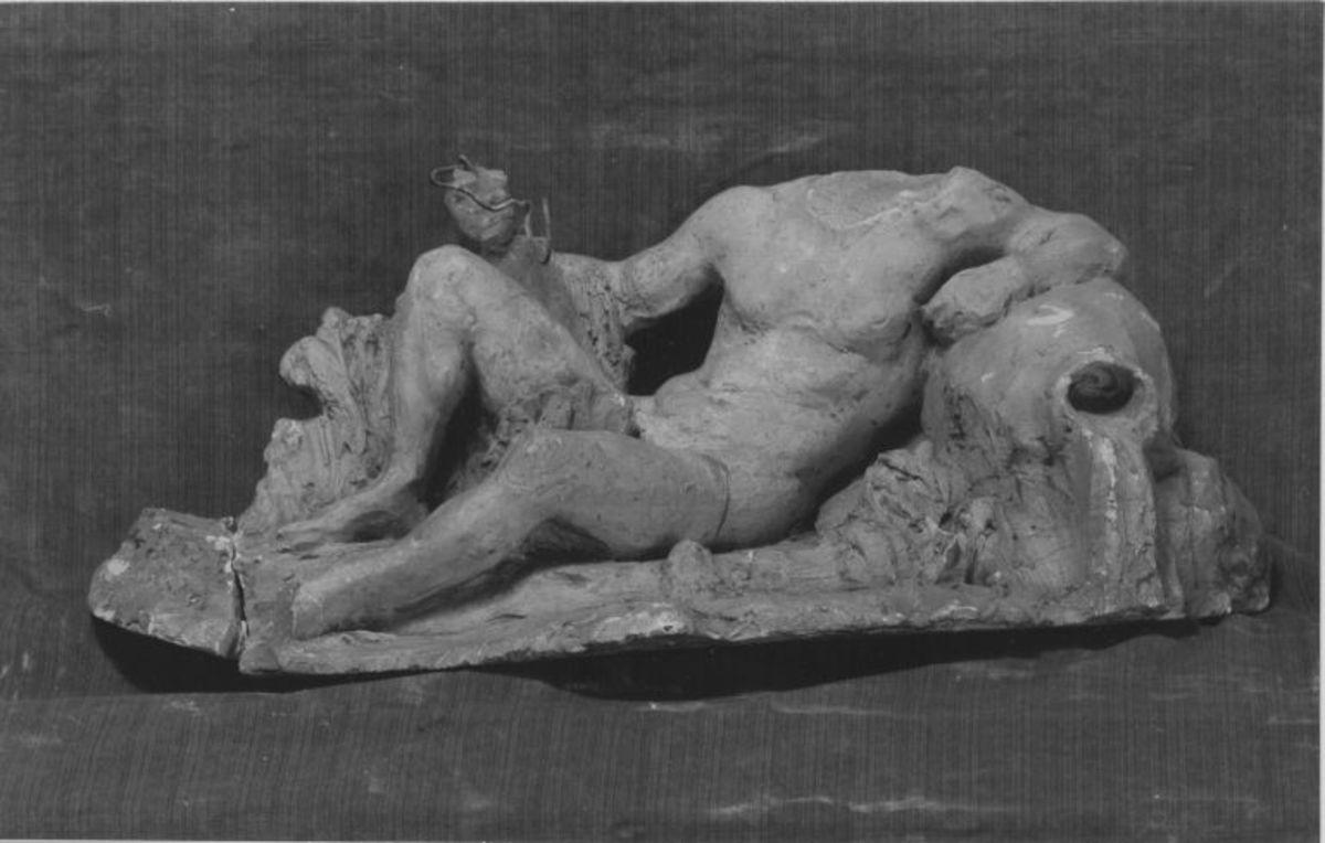 Vater Rhein (Bozzetto für die Figur am Vater Rhein-Brunnen in Köln)