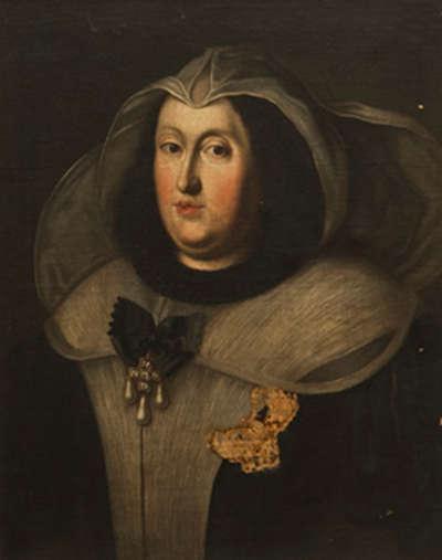 Bildnis der Maria Anna, Gemahlin des Kurfürsten Maximilian I. von Bayern