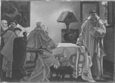 Ermahnung eines Mönches