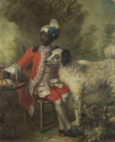 Bildnis eines Mohren (Angelo Soliman, Diener des Fürsten Lobkowitz?)