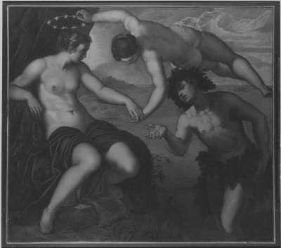 Bacchus und Ariadne (nach Tintoretto)