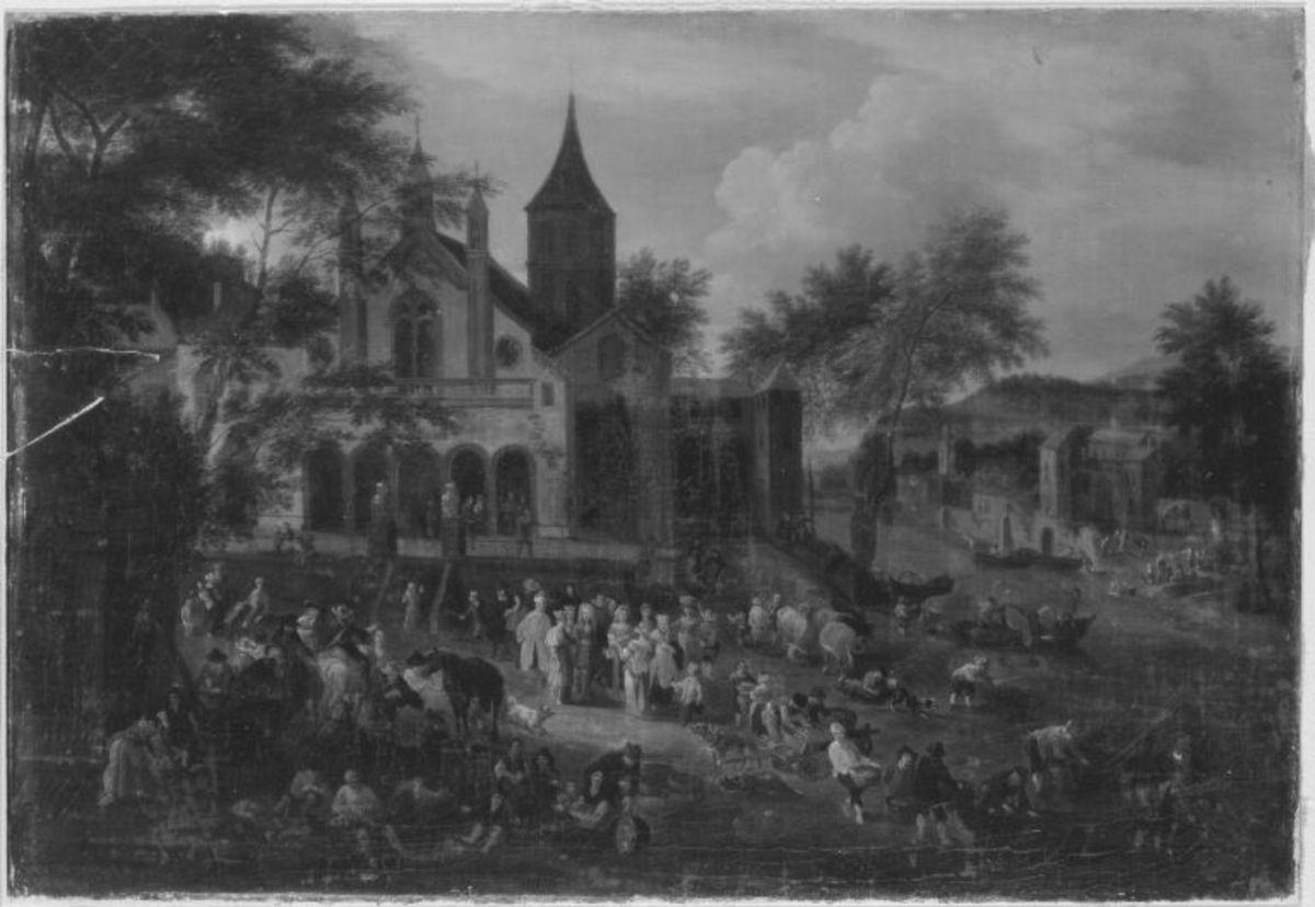 Der Kirchplatz