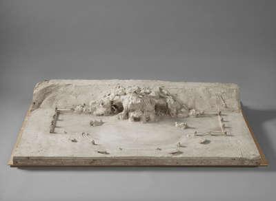 Modell des zweiten Entwurfs für den Vater-Rhein-Brunnen in Köln