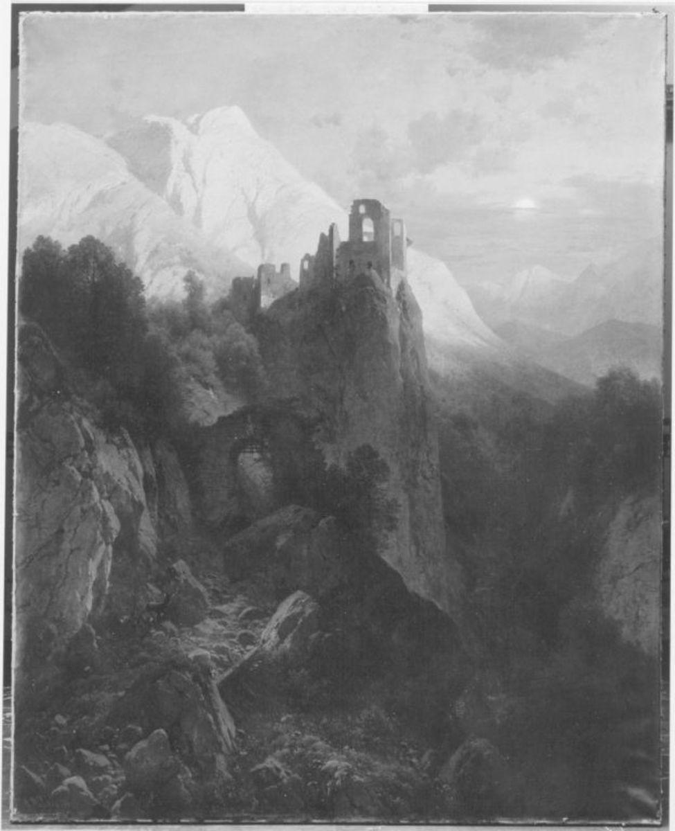 Ruine Kühbach bei Bozen