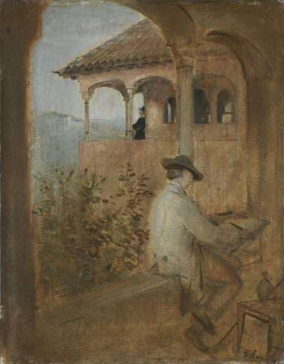 Der Tocador de la Reina auf der Alhambra in Granada