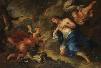 Die letzte Kommunion der hl. Magdalena