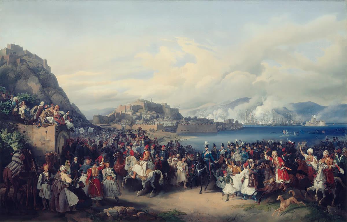 Einzug König Ottos von Griechenland in Nauplia