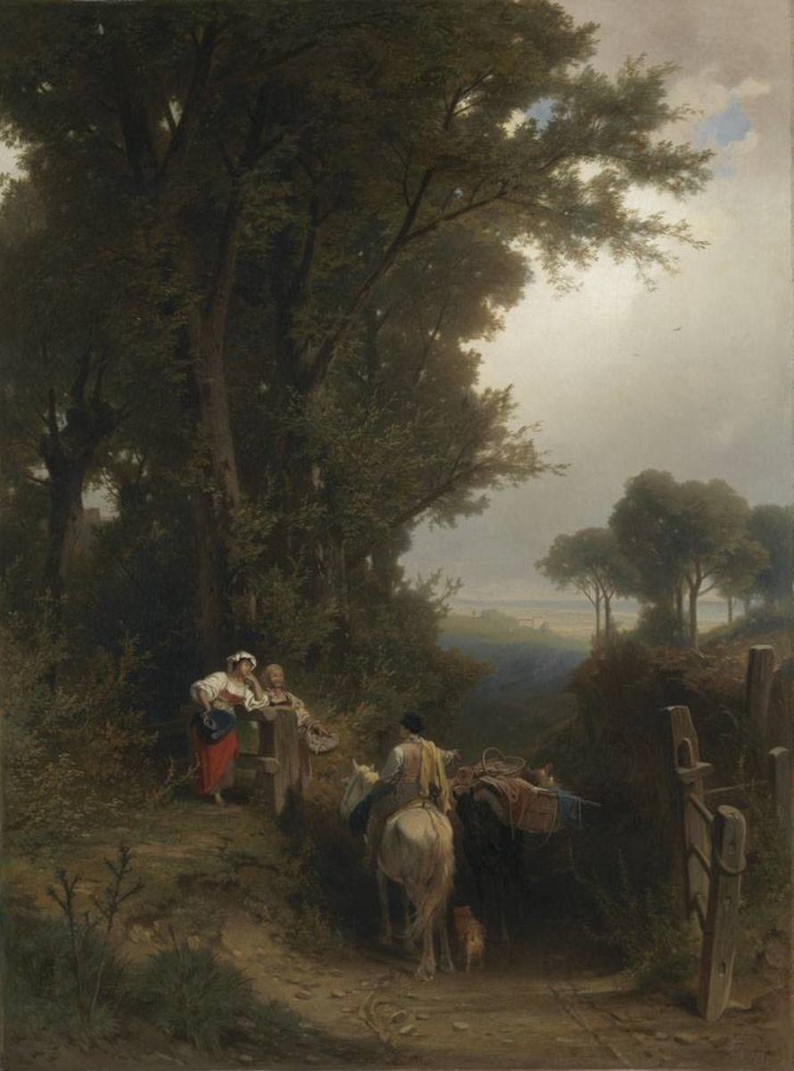 Landschaft in der Gegend von Cerveteri
