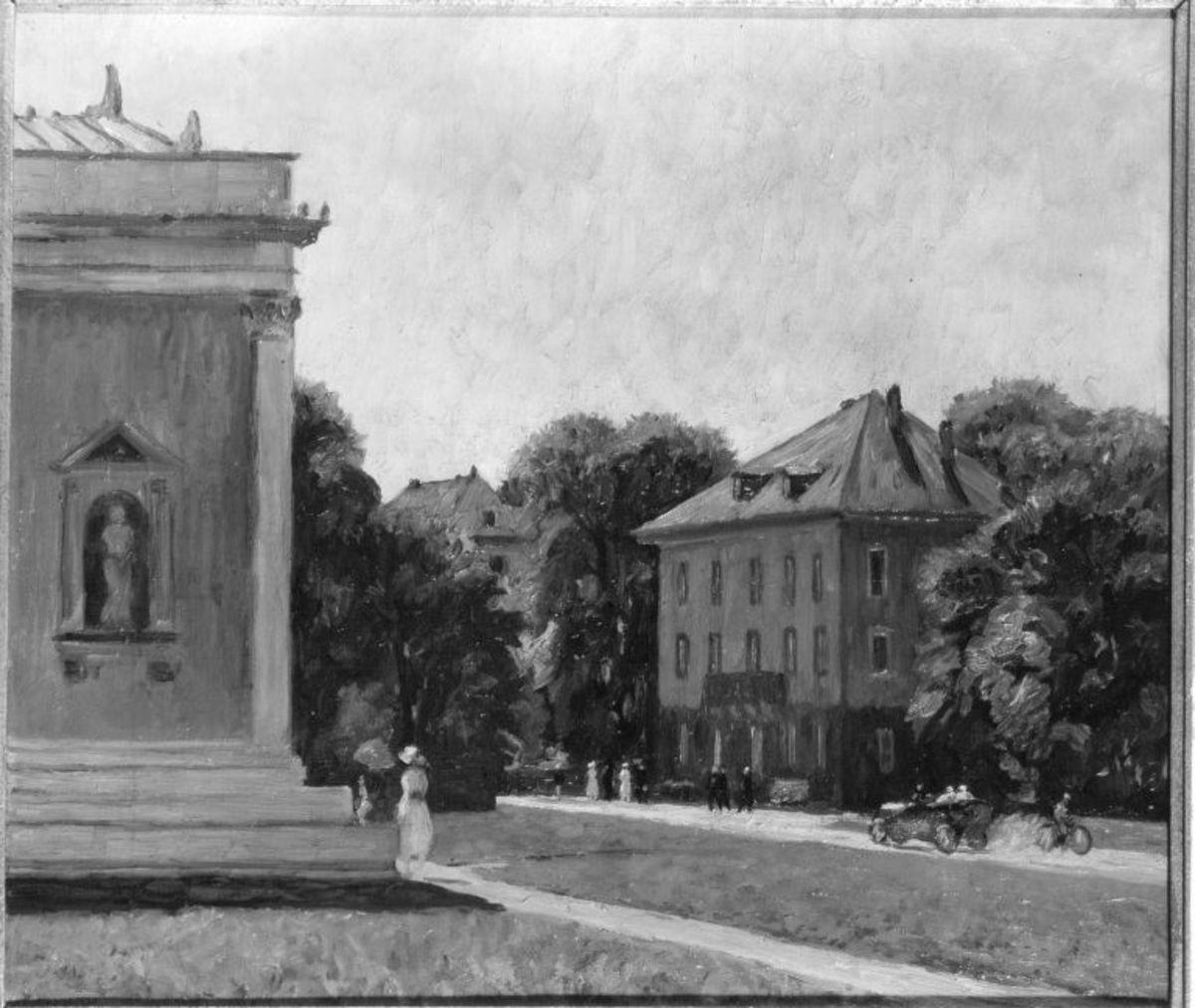 Hohenlohepalais und Glyptothek München