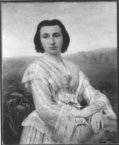 Die Frau des Künstlers