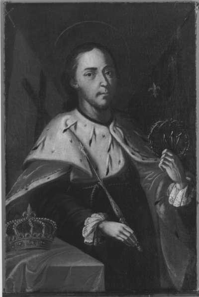Hl. Ludwig mit Kreuzesnägeln