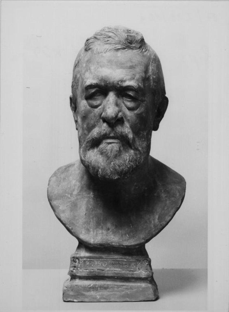 Der Maler Arnold Böcklin (1827–1901)