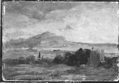 Blick auf den Monte Pellegrino mit Palermo