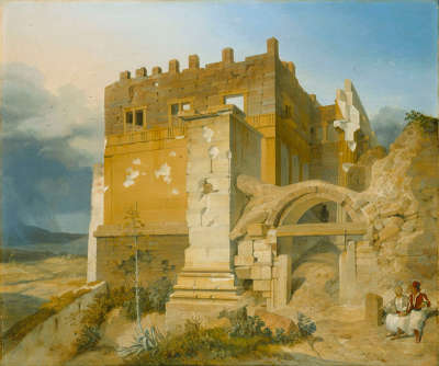 Aufgang zur Akropolis