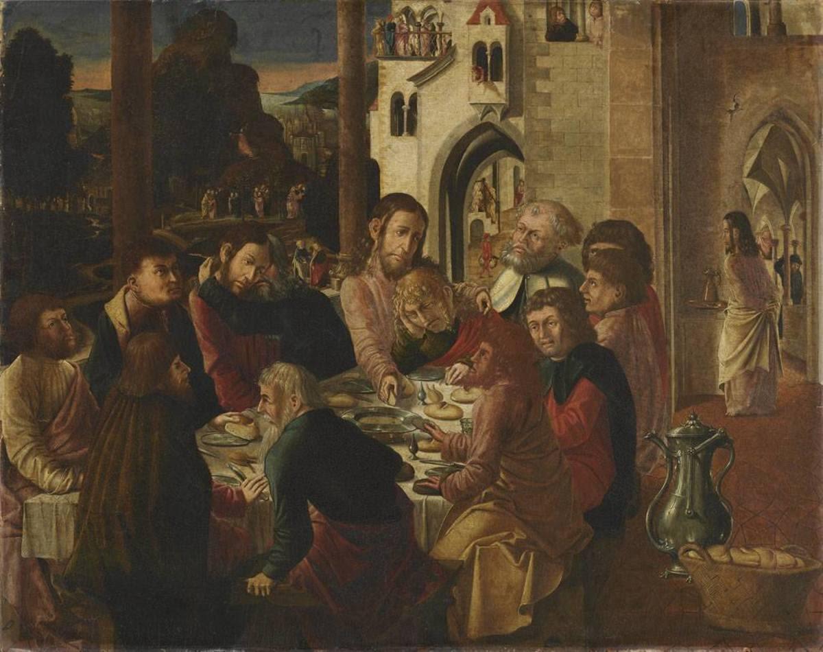 Jakobus-Stephanus-Altar(?): Hl. Abendmahl